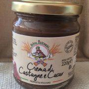 Crema di castagne e cacao