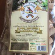 Rigatoni di grano duro integrale