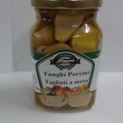 Funghi porcini tagliati a metà in olio 300 g