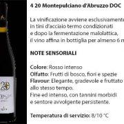 4 20 Montepulciano d'Abruzzo Doc, 6 euro