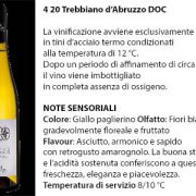 4 20 Trebbiano d'Abruzzo Doc, 6 euro