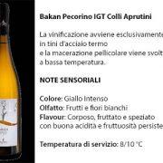 Bakan Pecorino Igt Colli Aprutini, 7 euro